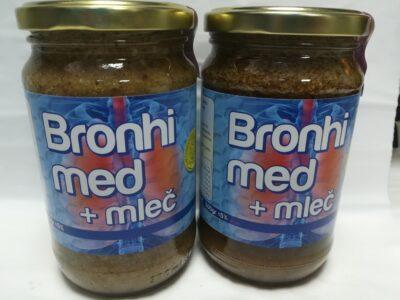 bronhi med sa mlečom
