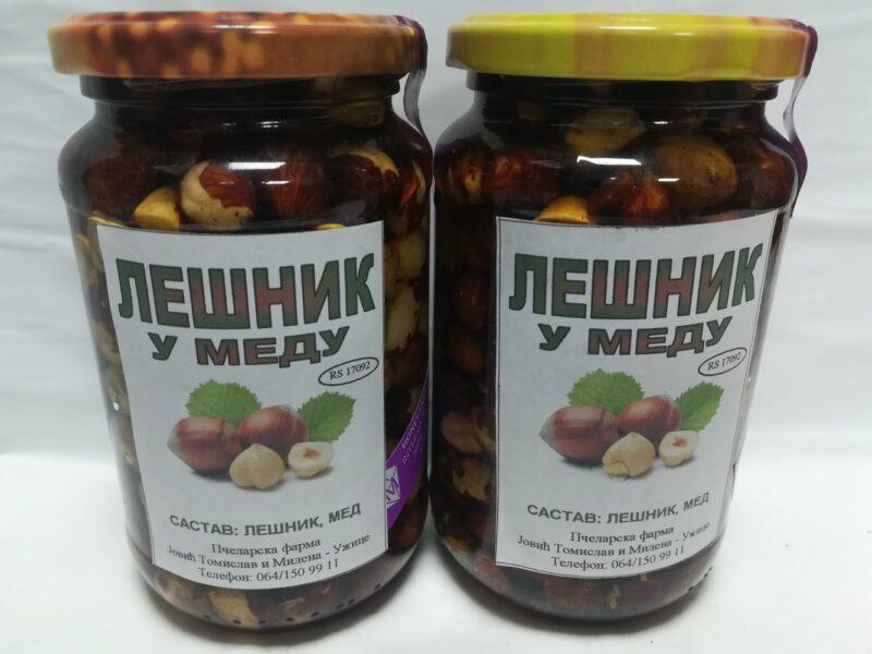 lešnik u medu