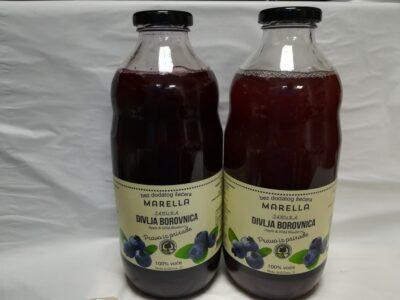 sok od divlje borovnice