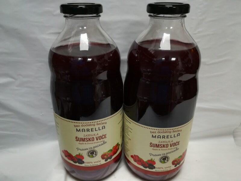 sok od šumskog voća