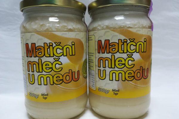 matični mleč u medu