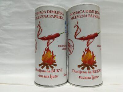 dimljena ljuta paprika