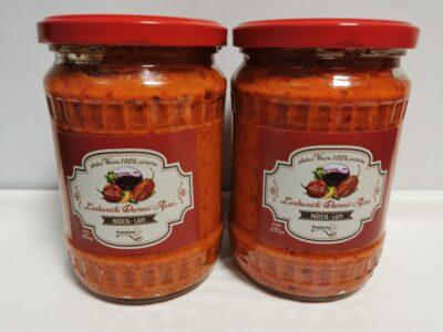 ajvar sa plavim paradajzom
